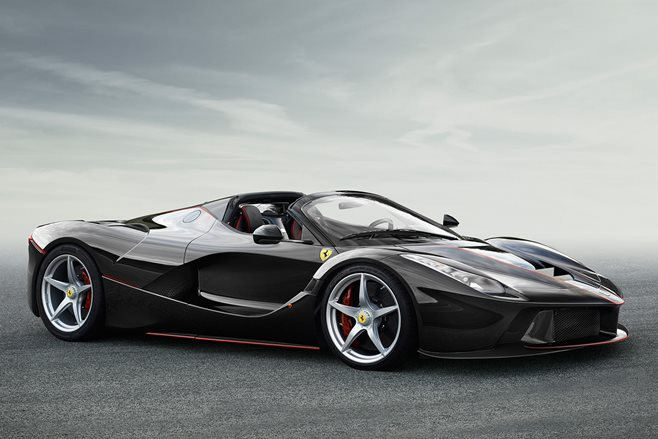 Ferrari LaFerrari drop-top revealed