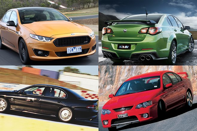 Nine best modern Aussie muscle cars