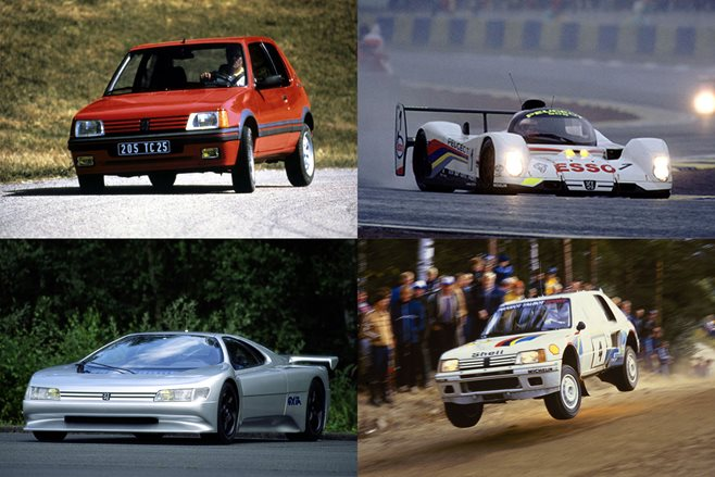 Peugeot's decade of madness