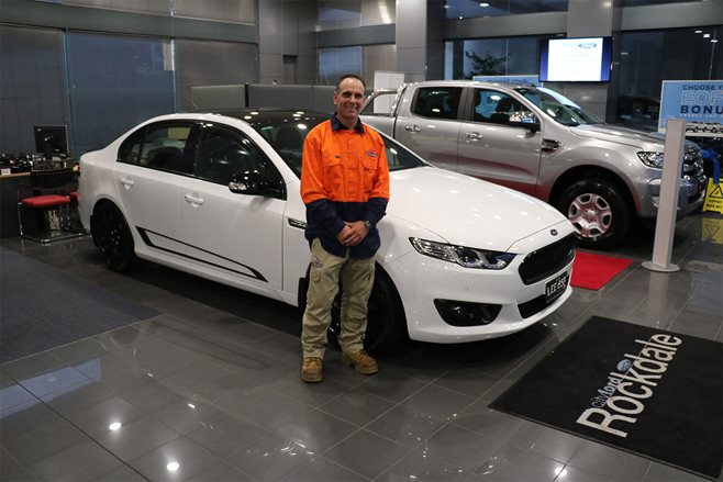 Ford Falcon XR8 Sprint auction