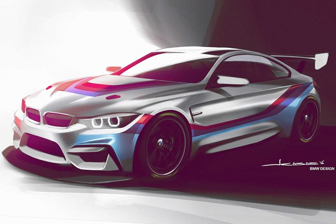 BMW M4 GT4 confirmed
