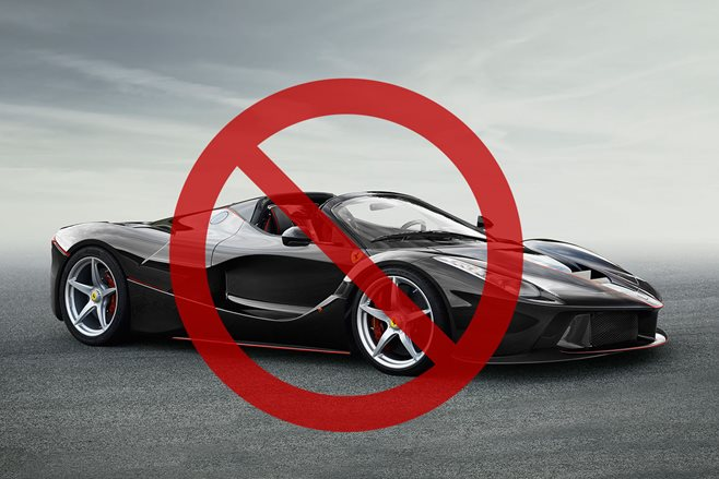 Man denied LaFerrari Spider