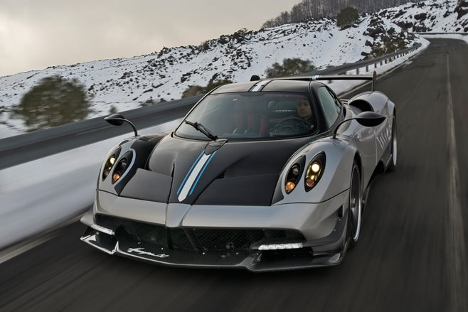 Pagani Huayra BC to appear at World Time Attack