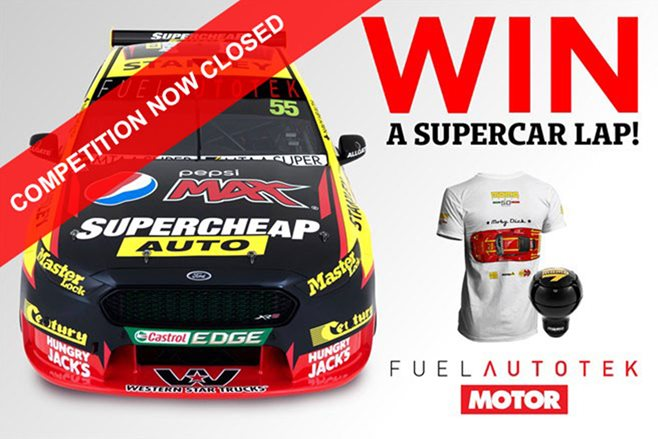 WIN a Supercar hot lap