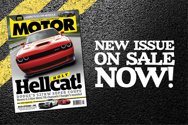 MOTOR October issue preview