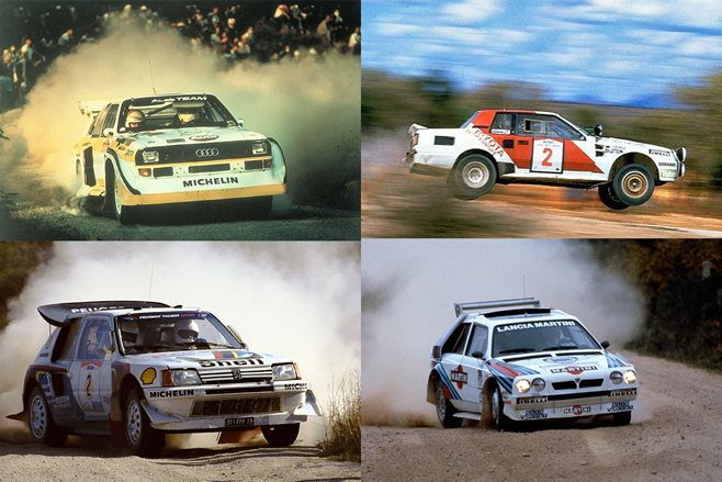 Cars of Group B Part 2