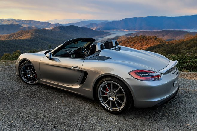 Porsche Boxster Spyder: Celebrating the manual gearbox