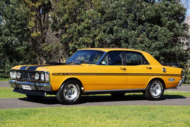 Ford XW Falcon GT Auction