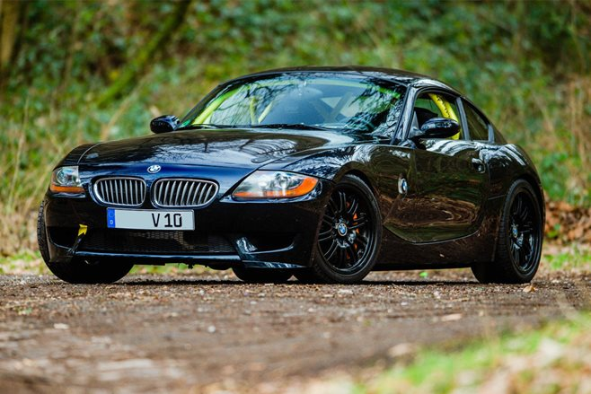 BMW Z4 with a Dodge Viper V10 engine