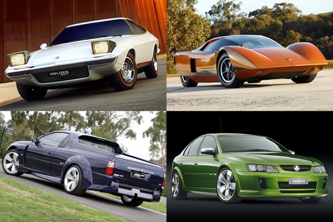 Nine Hot Holden Concepts