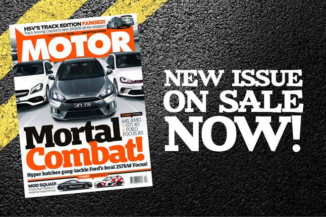 MOTOR December issue preview