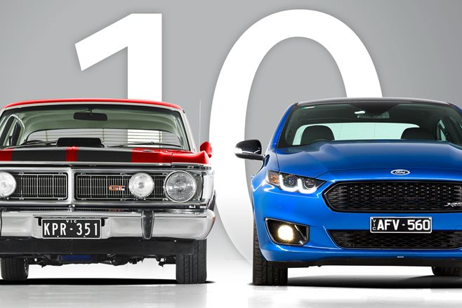 Top 10 fast Ford Falcons