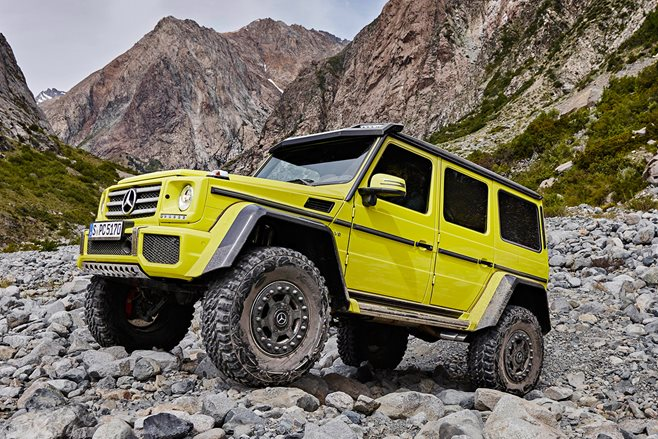 2016 Mercedes G500 4x4 Squared review