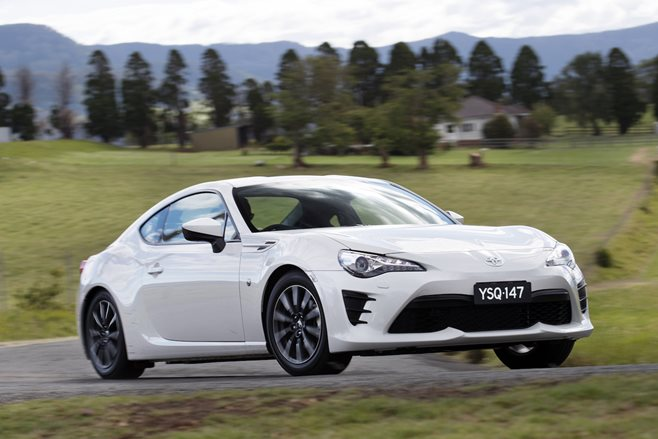 2017 Toyota 86 cops price hike