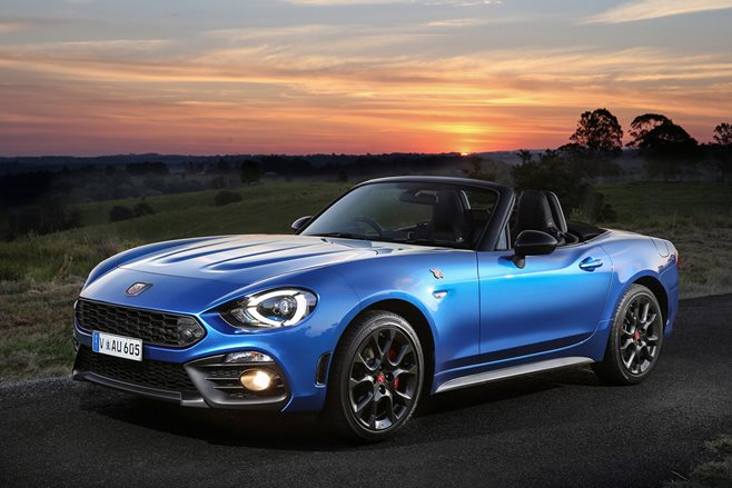2016 abarth 124 spider review motor. Black Bedroom Furniture Sets. Home Design Ideas