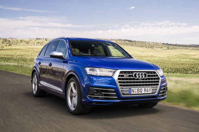 2017 Audi SQ7 TDI review