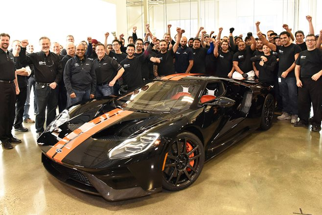 Ford GT production begins
