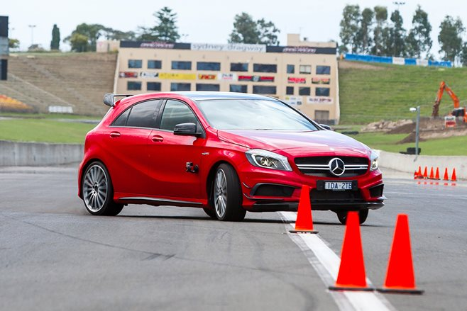 MOTOR Tyre Test 2015: Slalom