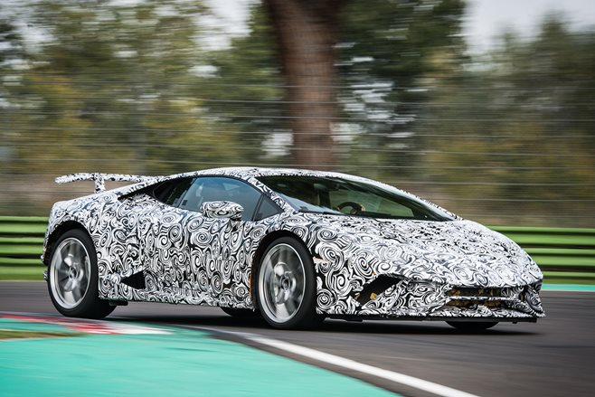 Lamborghini Huracan Performante secrets revealed