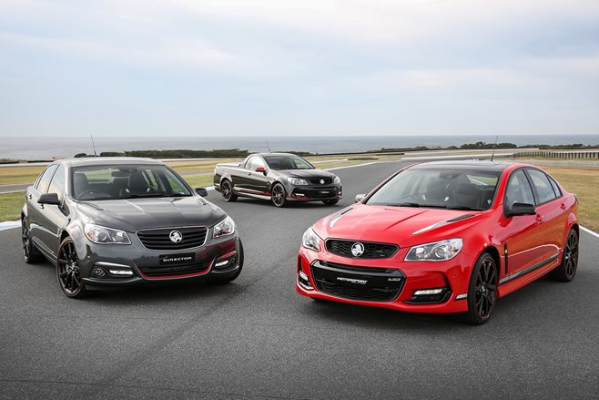 2017 Holden Commodore 'Special Editions' revealed