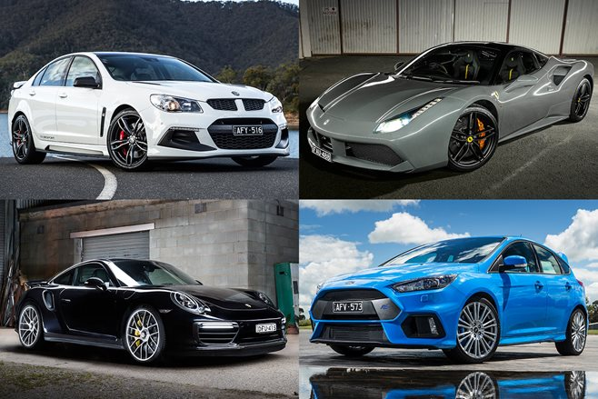 2017 Performance Car Of The Year contenders