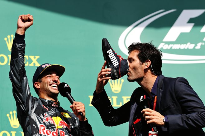 Mark Webber given 2017 Order of Australia