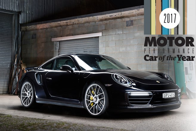 Porsche 911 Turbo S wins PCOTY 2017