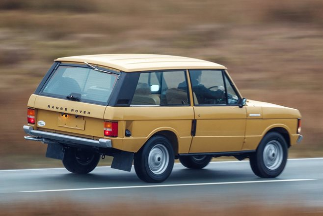 1978 Range Rover reborn as new