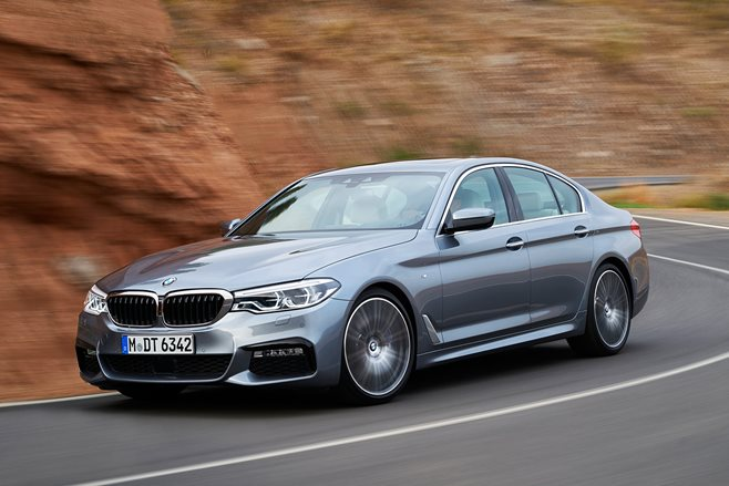 Perfect 2017 BMW 540i Review  MOTOR