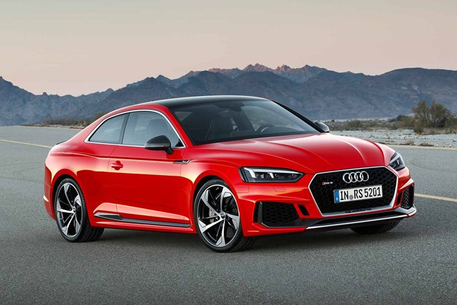 geneva motor show 2018 audi rs5 revealed motor. Black Bedroom Furniture Sets. Home Design Ideas