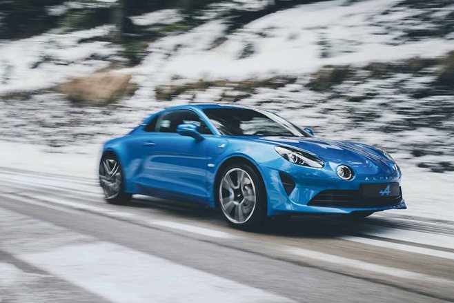 geneva motor show 2018 alpine a110 revealed motor. Black Bedroom Furniture Sets. Home Design Ideas