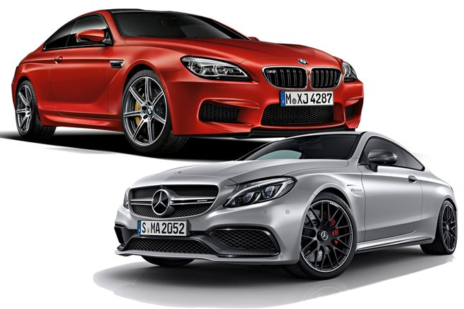 Mercedes-AMG C63 Coupe vs 2013 BMW M6 Competition main