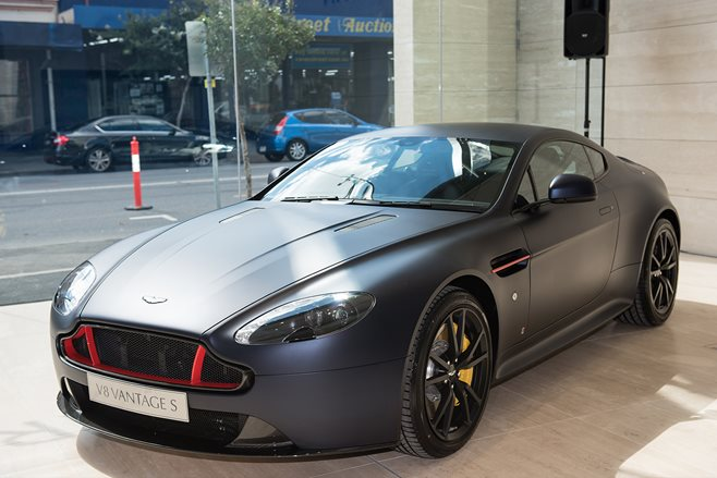 Aston Martin Vantage S Red Bull Racing Edition revealed main
