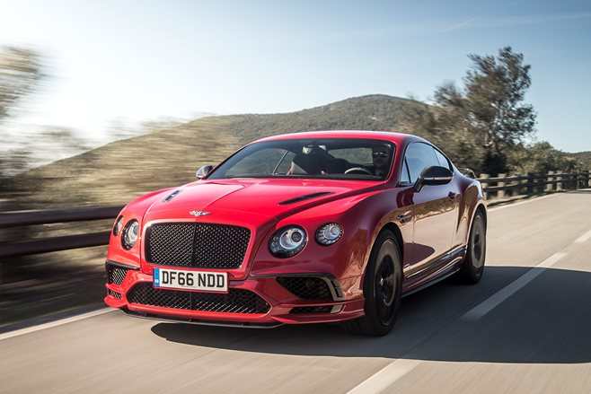 2017 Bentley Continental Supersports review main