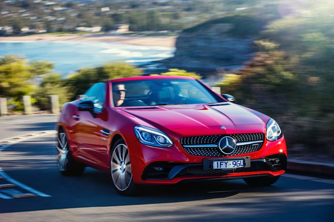 2017 Mercedes AMG SLC 43 quick review main