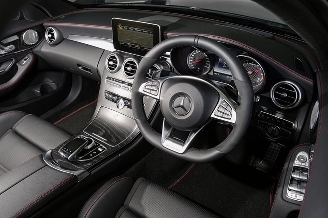 merc c43 interior main