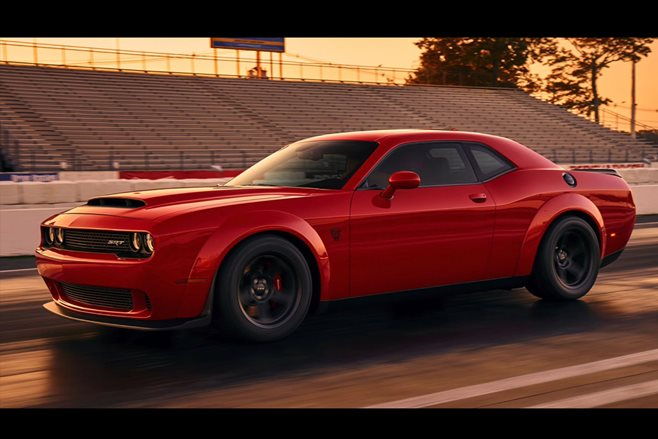 2018 Dodge Challenger SRT Demon power rumours main