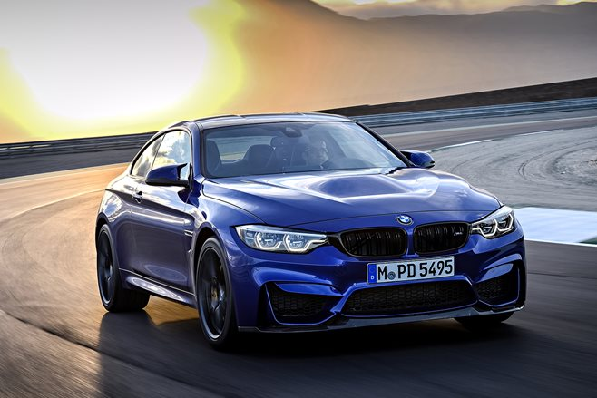 2018 BMW M4 CS front three quarter