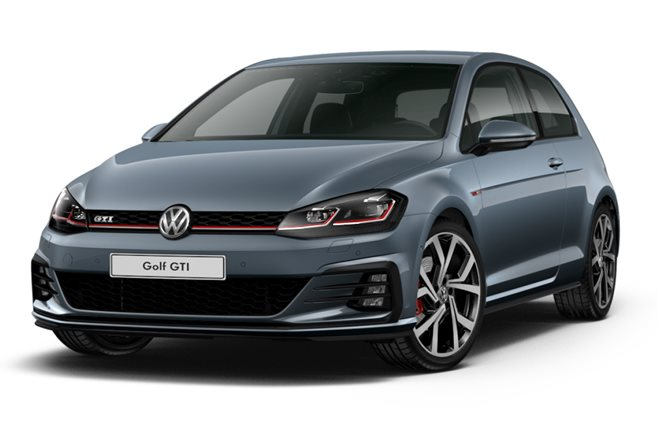 3 door golf gti blue