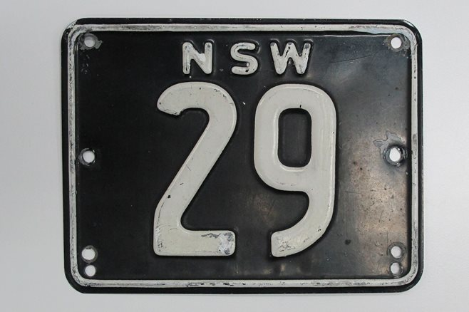 number plates nsw numerical number plates 29