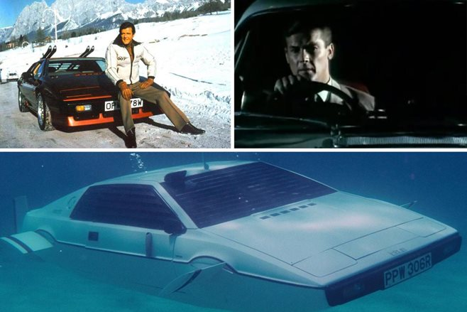 Roger moore best cars1