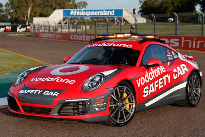 Porsche 911 Carrera 4S Safety Car