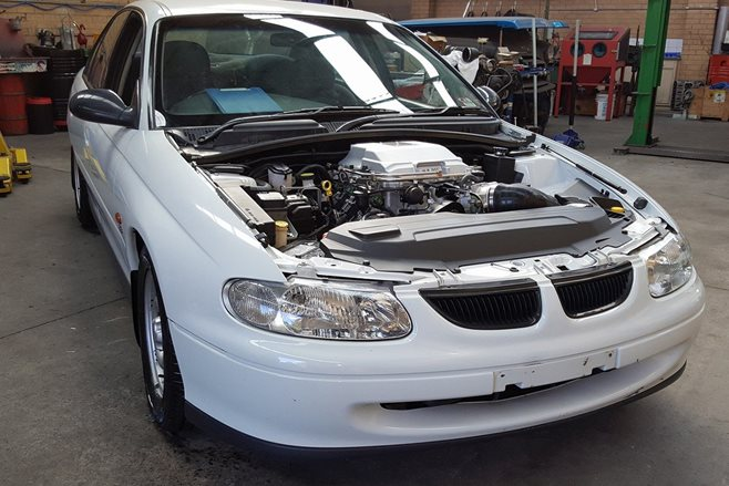 Holden executive cop LS1 fitted for new parts
