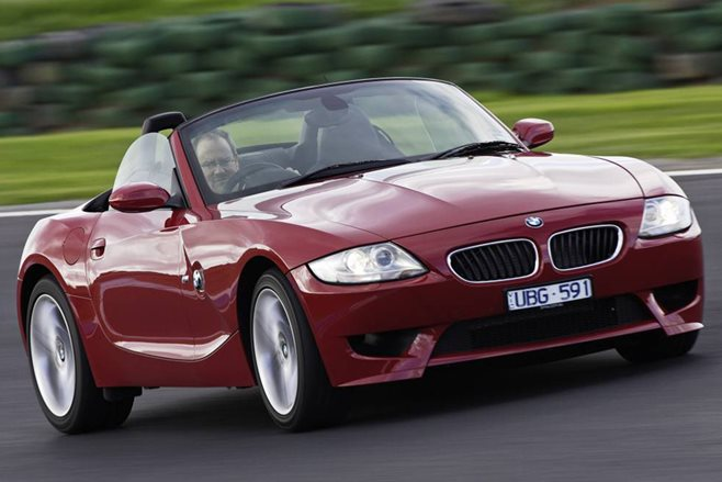 BMW Z4 M front