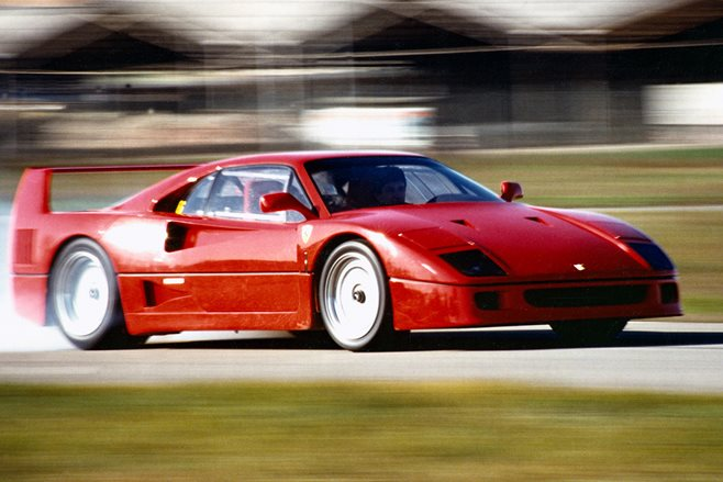 ferrari f40 turns 30 motor. Black Bedroom Furniture Sets. Home Design Ideas