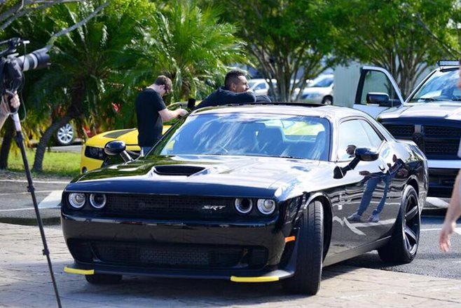 Nick Kyrgios' Dodge Challenger Hellcat