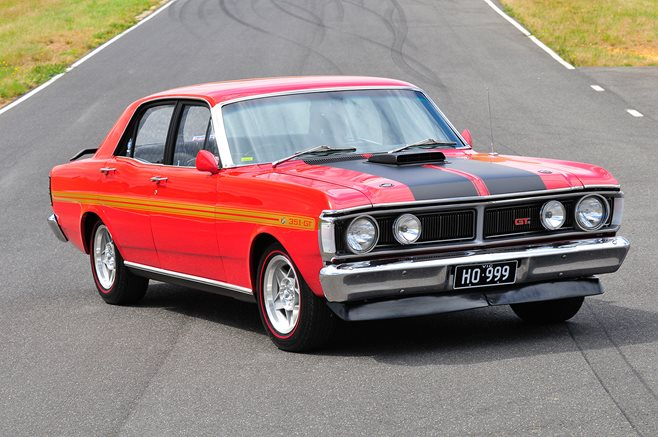 Ford Falcon XY GT HO Phase III