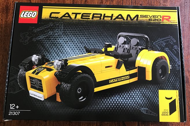 LEGO Caterham 620R kit