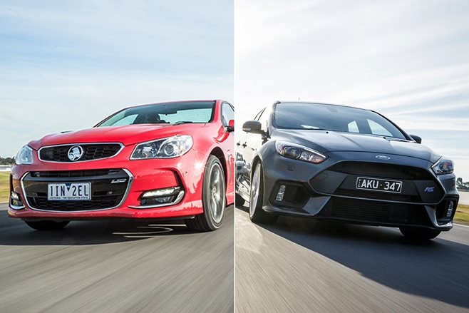 Holden vs Ford sales