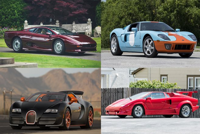 Monterey Car Week supercar auction highlights